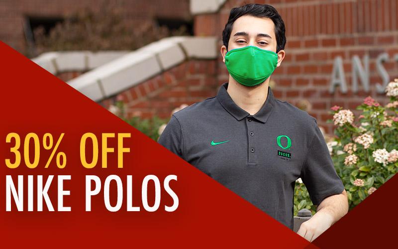 30% OFF Select Nike Polos