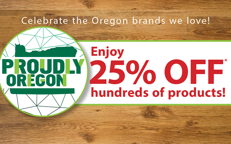 25% OFF Proudly Oregon
